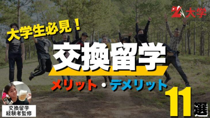 【徹底紹介】交換留学のメリット・デメリット11選